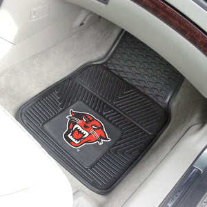 "Davenport Panthers 2 Piece Vinyl Car Mats - 18""x27"""