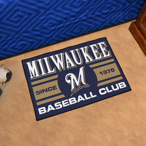 Milwaukee Brewers Rug #3