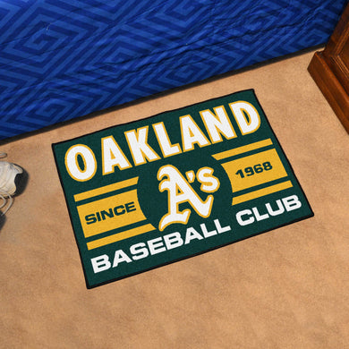 Oakland Athletics Rug #2