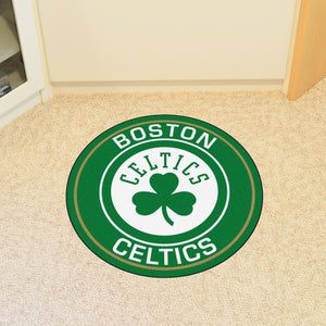 Boston Celtics Round Mat - 27""