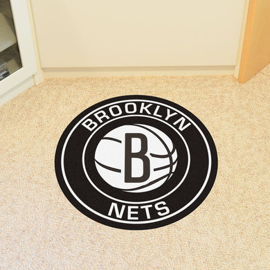 Brooklyn Nets Round Mat - 27