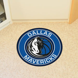Dallas Mavericks Round Mat - 27""