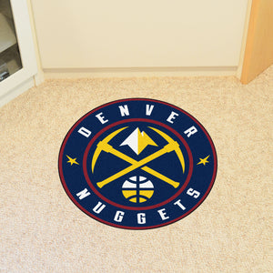 Denver Nuggets Round Mat - 27""