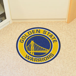 Golden State Warriors Round Mat - 27""