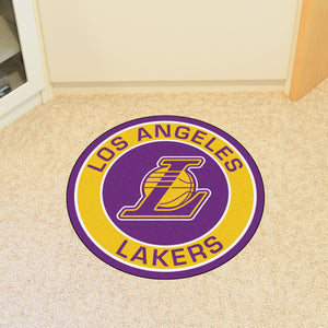 Los Angeles Lakers Round Mat - 27""