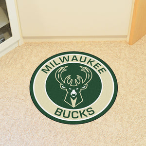 Milwaukee Bucks Round Mat - 27""