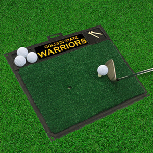 "Golden State Warriors Golf Hitting Mat 20"" x 17"""