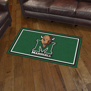 Marshall Thundering Herd Plush Rug - 3'x5'