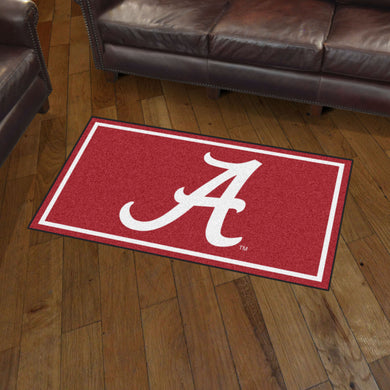 Alabama Crimson Tide Plush Rug - 3'x5'