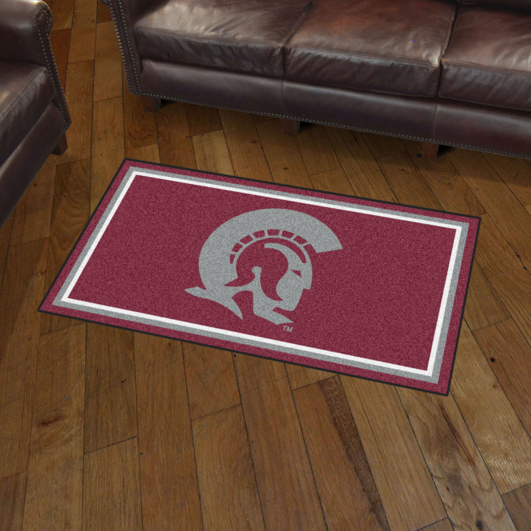 Arkansas - Little Rock Trojans Plush Rug - 3'x5'