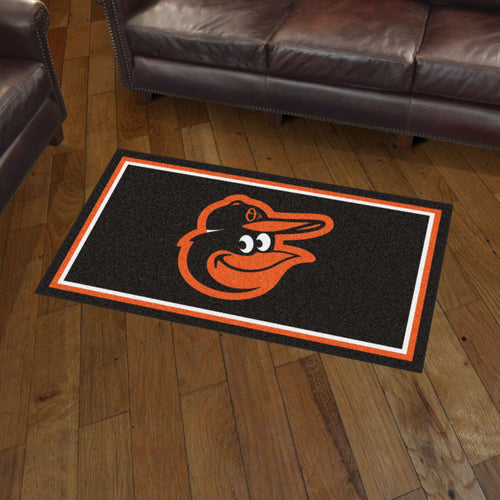 Baltimore Orioles Plush Rug - 3'x5'