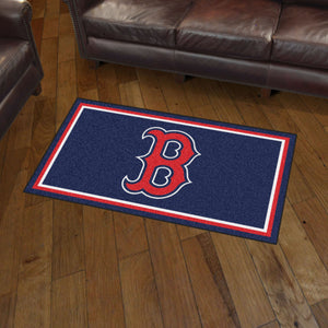 Boston Red Sox Plush Rug - 3'x5'