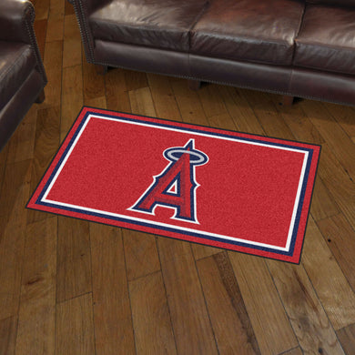 Los Angeles Angels Plush Rug - 3'x5'