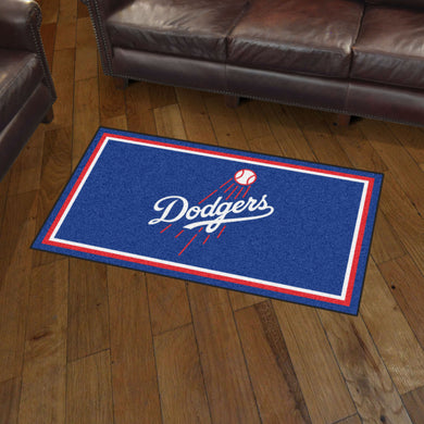 Los Angeles Dodgers Plush Rug - 3'x5'