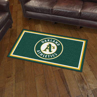 Oakland Athletics Plush Rug - 3'x5'