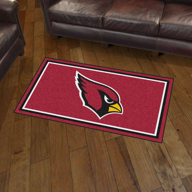 Arizona Cardinals Plush Rug - 3'x5'