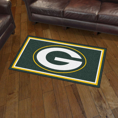 Green Bay Packers Plush Rug - 3'x5'