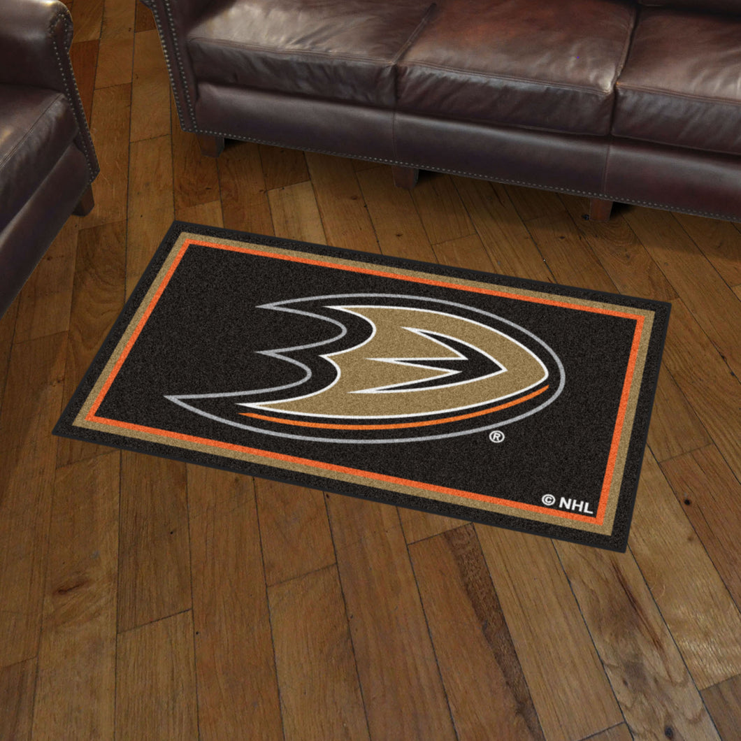 Anaheim Ducks Plush Rug - 3'x5'