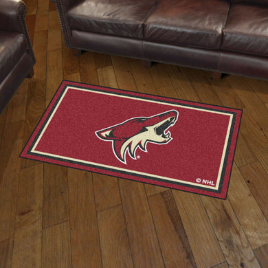 Arizona Coyotes Plush Rug - 3'x5'