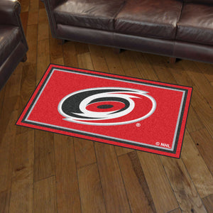 Carolina Hurricanes Plush Rug - 3'x5'
