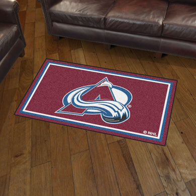 Colorado Avalanche Plush Rug - 3'x5'