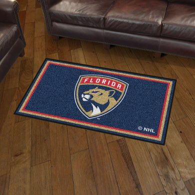 Florida Panthers Plush Rug - 3'x5'