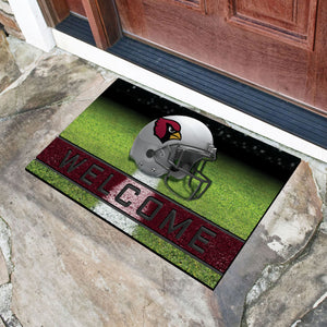 "Arizona Cardinals Crumb Rubber Door Mat - 18""X30"""