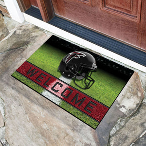 "Atlanta Falcons Crumb Rubber Door Mat - 18""X30"""