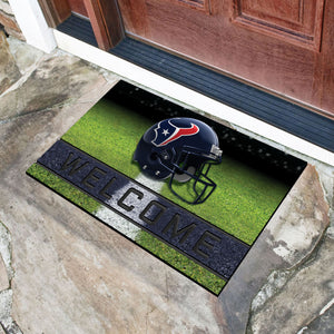 "Houston Texans Crumb Rubber Door Mat - 18""X30"""