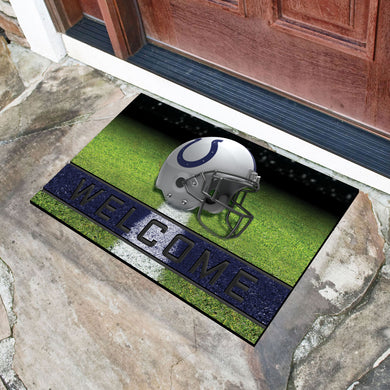 Indianapolis Colts Crumb Rubber Door Mat - 18