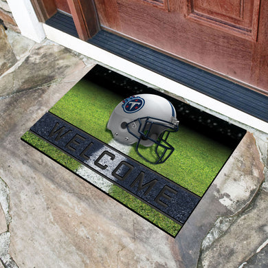 Tennessee Titans Crumb Rubber Door Mat - 18