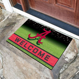 "Alabama Crimson Tide Crumb Rubber Door Mat - 18""x30"""