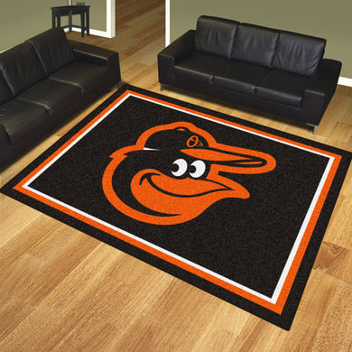 Baltimore Orioles Plush Rug - 8'x10'