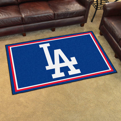 Los Angeles Dodgers Plush Rug - 4'x6'