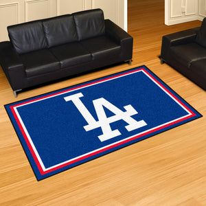 Los Angeles Dodgers Plush Rug - 5'x8'