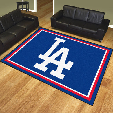 Los Angeles Dodgers Plush Rug - 8'x10'