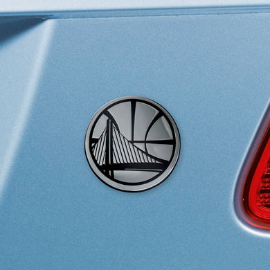 Golden State Warriors Chrome Auto Emblem