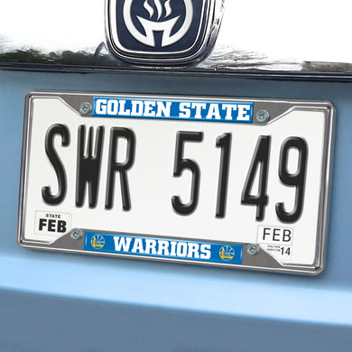 Golden State Warriors License Plate Frame