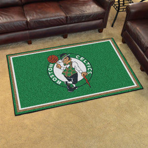 Boston Celtics Plush Rug - 4'x6'