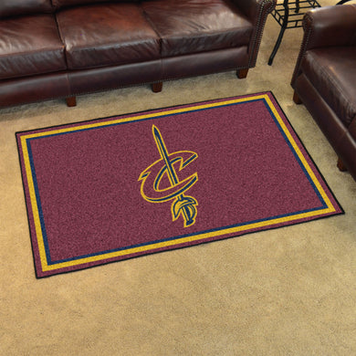 Cleveland Cavaliers Plush Rug - 4'x6'