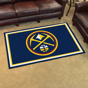 Denver Nuggets Plush Rug - 4'x6'