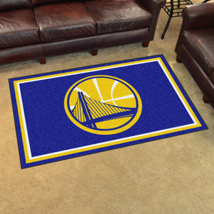 Golden State Warriors Plush Rug - 4'x6'