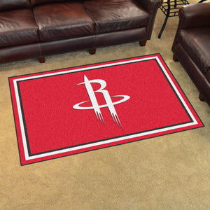 Houston Rockets Plush Rug - 4'x6'