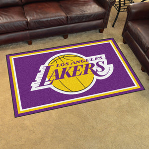 Los Angeles Lakers Plush Rug - 4'x6'