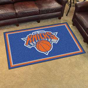 New York Knicks Plush Rug - 4'x6'
