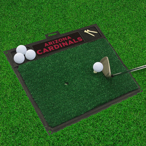 "Arizona Cardinals Golf Hitting Mat - 20"" x 17"""