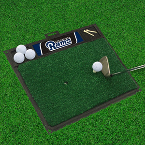 "Los Angeles Rams  Golf Hitting Mat - 20"" x 17"""
