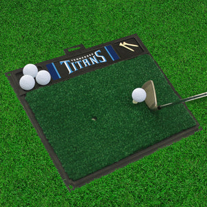 "Tennessee Titans  Golf Hitting Mat - 20"" x 17"""
