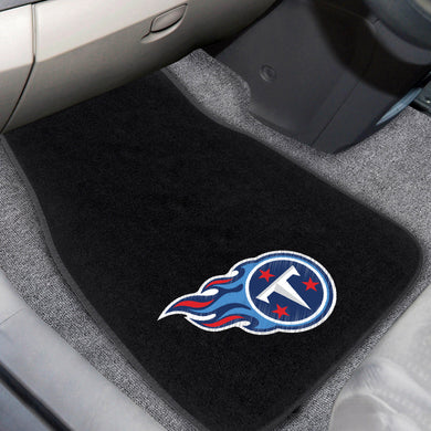 Tennessee Titans 2-Piece Embroidered Car Mat Set - 17