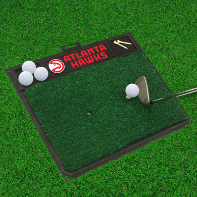 Atlanta Hawks Golf Hitting Mat 20
